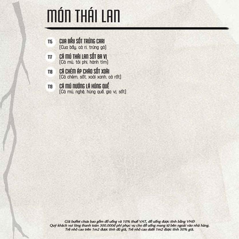 Menu Á Gia – Quang Trung 11