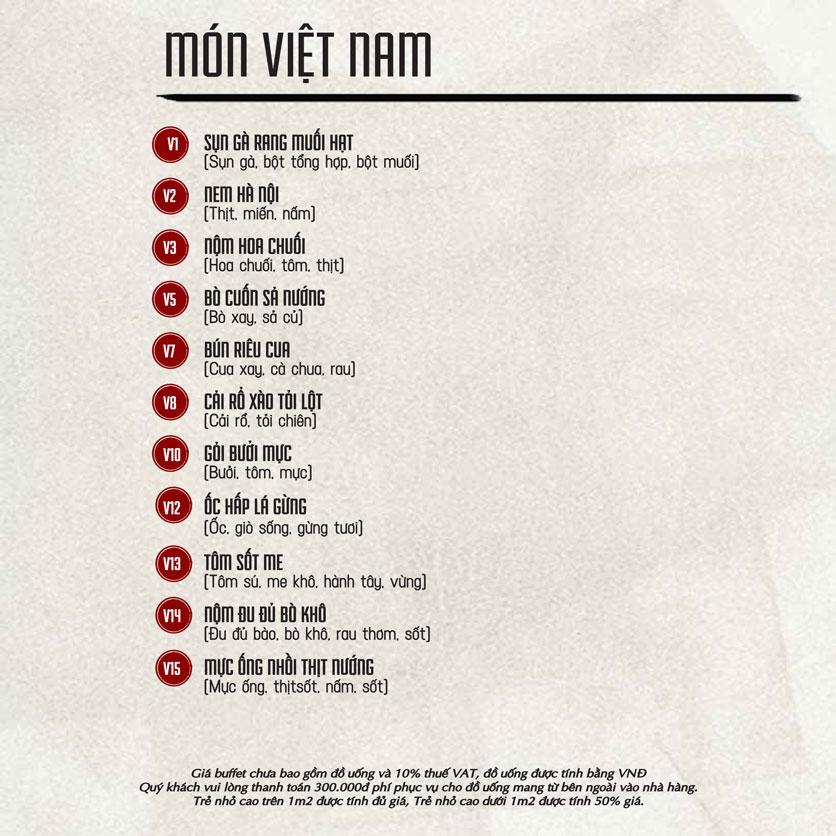 Menu Á Gia – Quang Trung 4