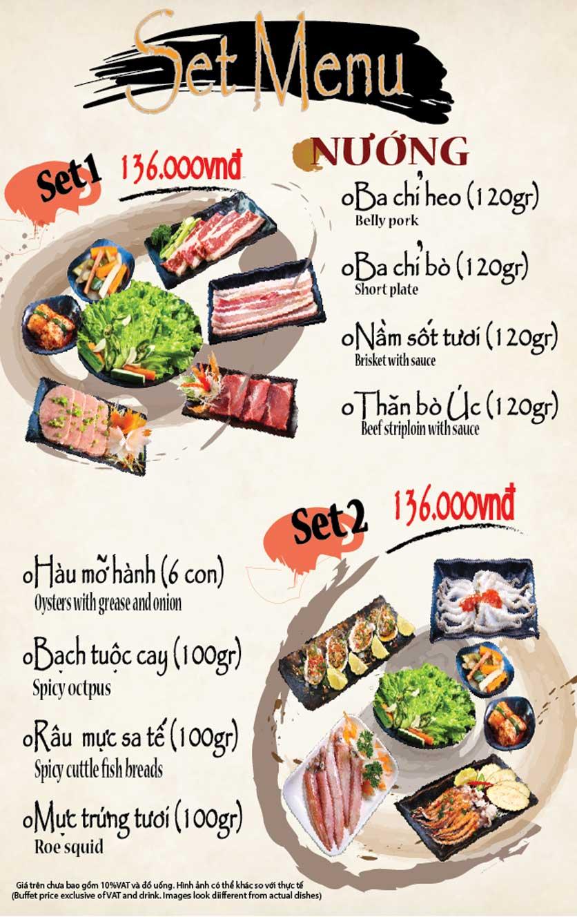Menu Seoul BBQ  1