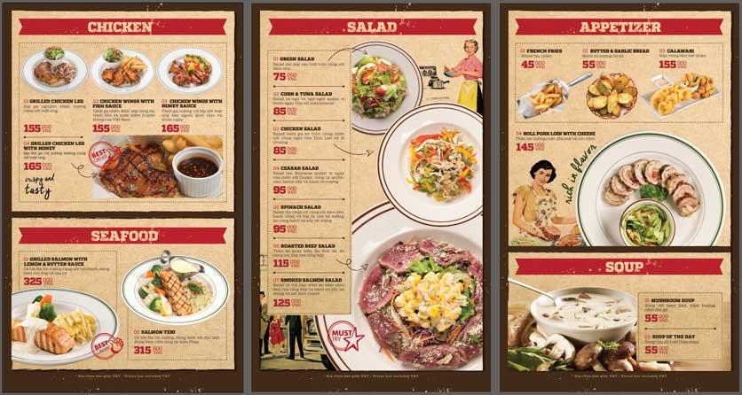 Menu Cowboy Jack's American Dining - Mipec Tây Sơn 4