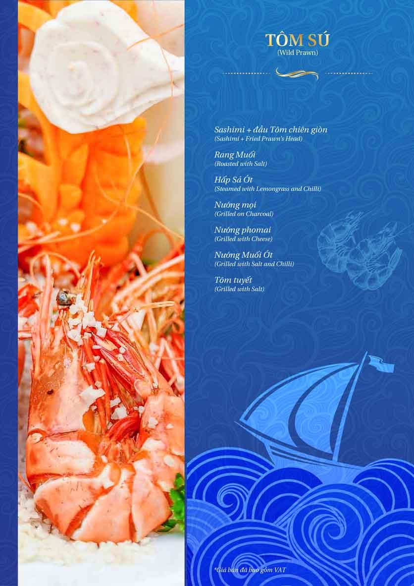 Menu Thế Giới Hải Sản - Dương Đình Nghệ 14