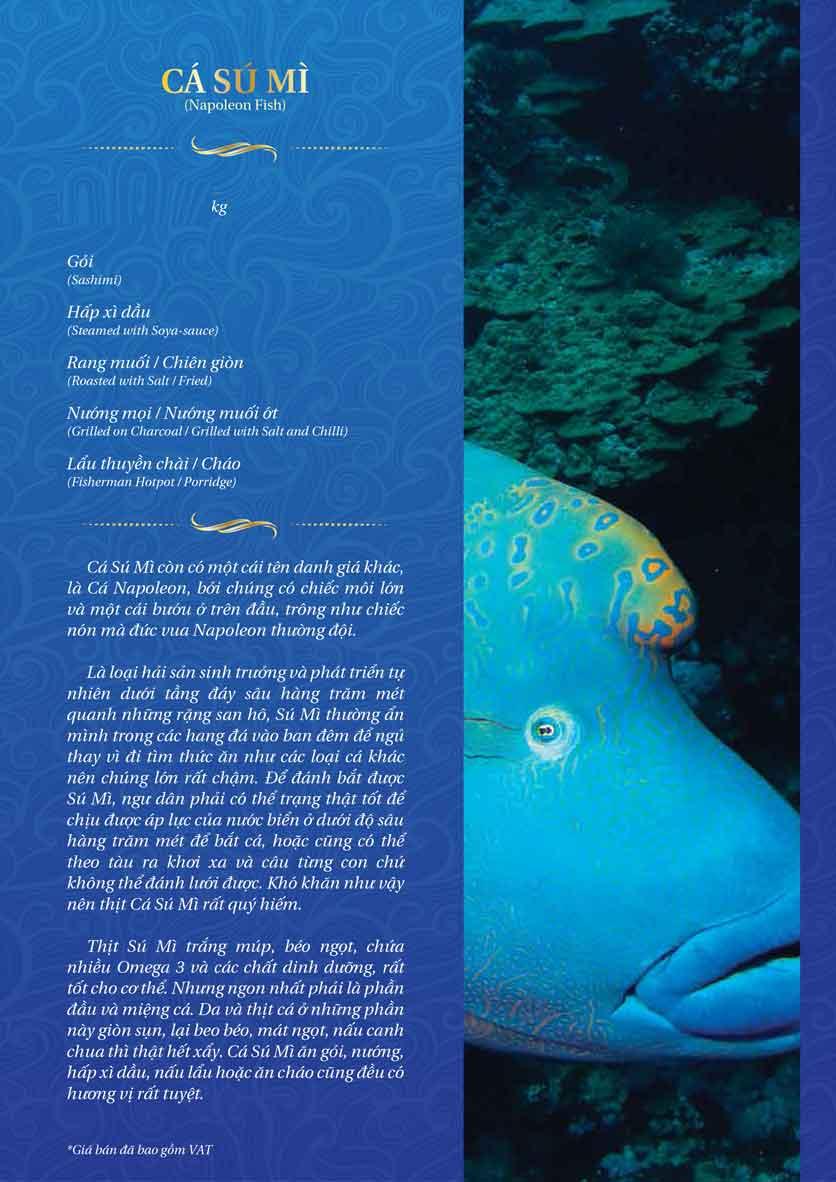 Menu Thế Giới Hải Sản - Dương Đình Nghệ 19