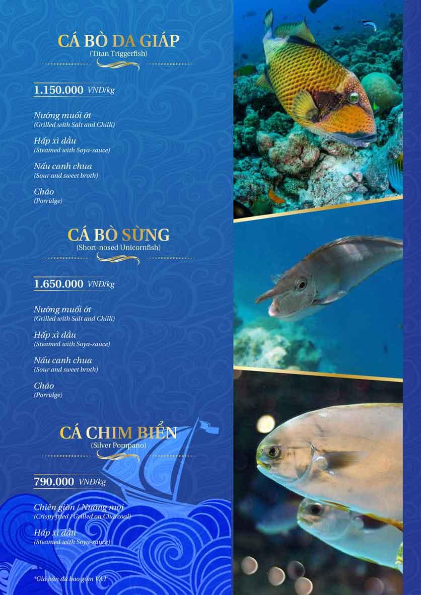 Menu Thế Giới Hải Sản - Dương Đình Nghệ 25