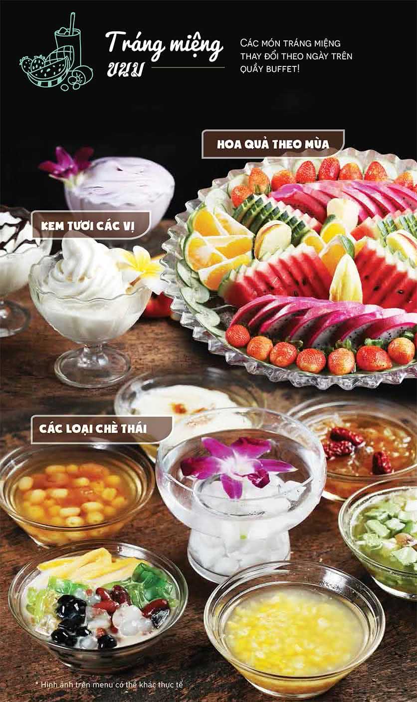 Menu Thái BBQ - Vincom Center 11