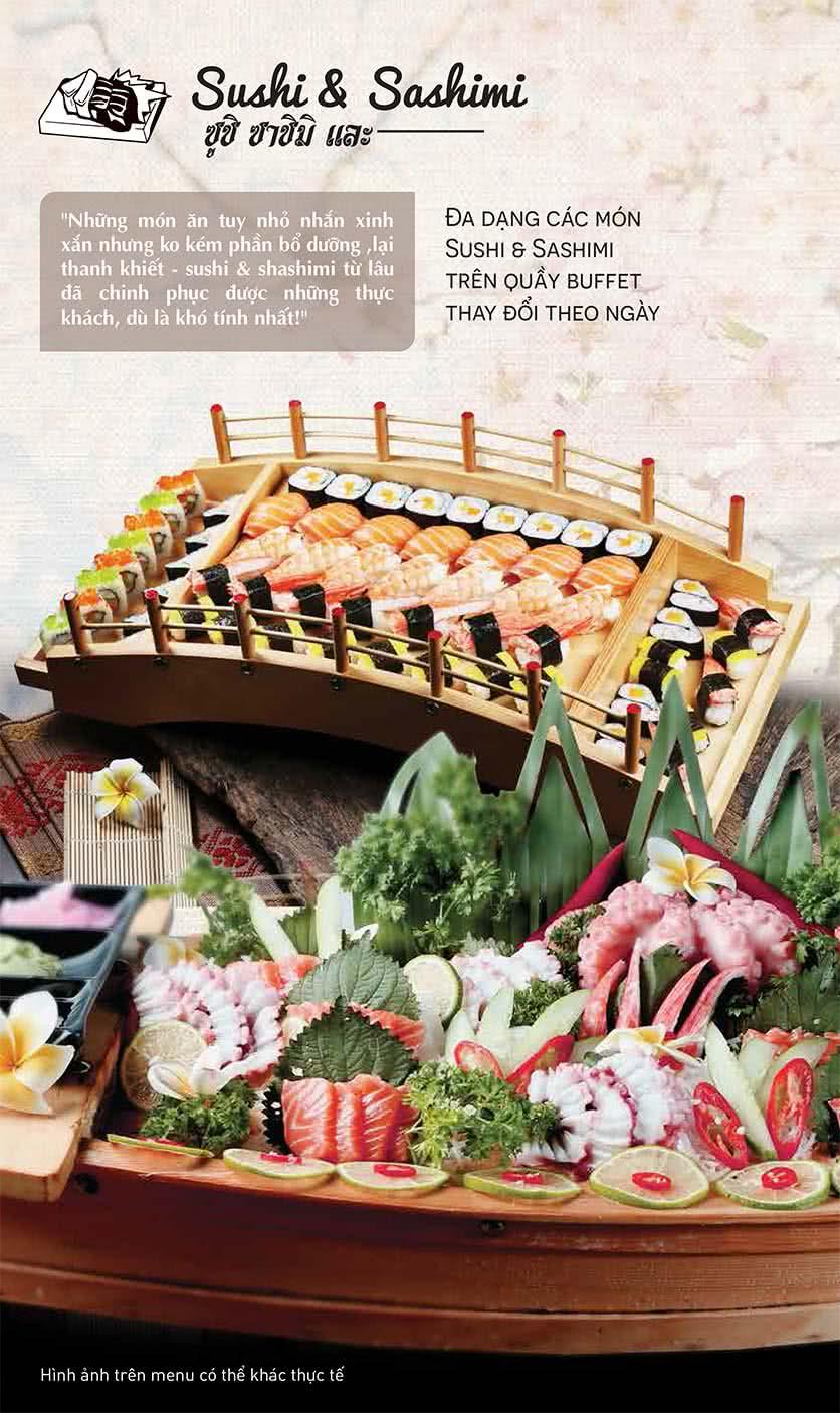 Menu Thái BBQ - Vincom Center 7
