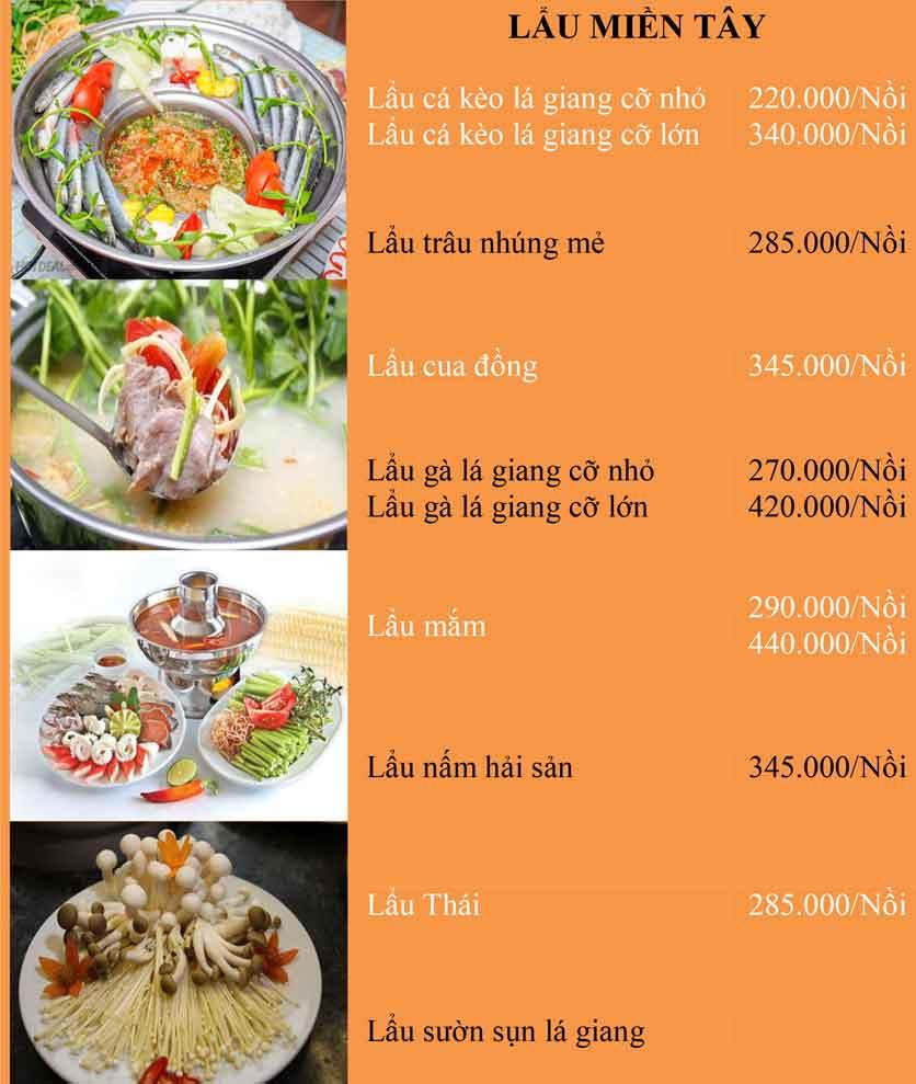 Menu Bánh Tráng Thịt Heo Cô Bống - Tây Sơn 2