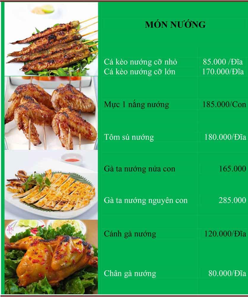 Menu Bánh Tráng Thịt Heo Cô Bống - Tây Sơn 4