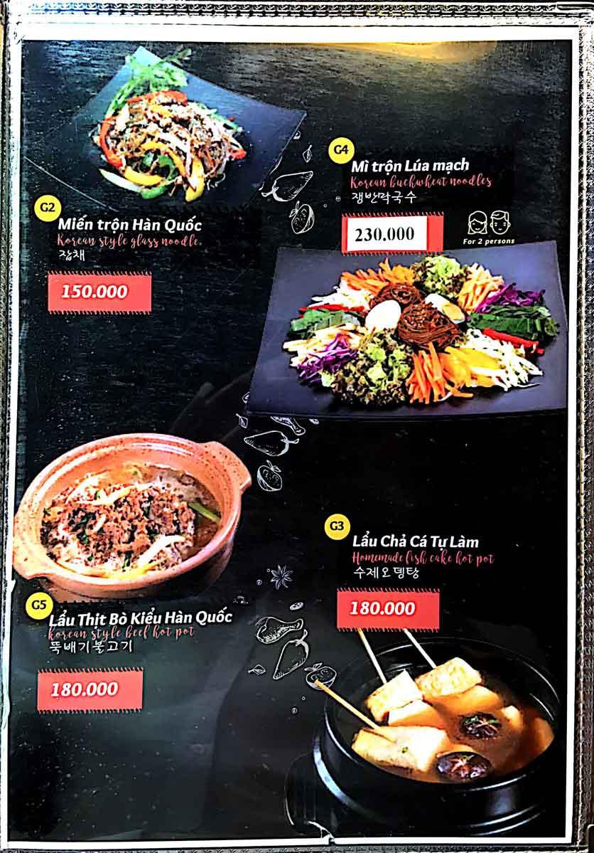 Menu Cocodak Korean Restaurant - Lý Tự Trọng  15