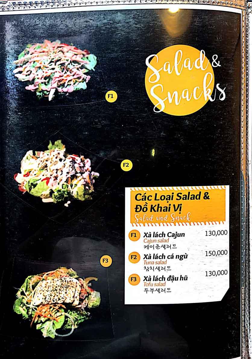 Menu Cocodak Korean Restaurant - Lý Tự Trọng  16