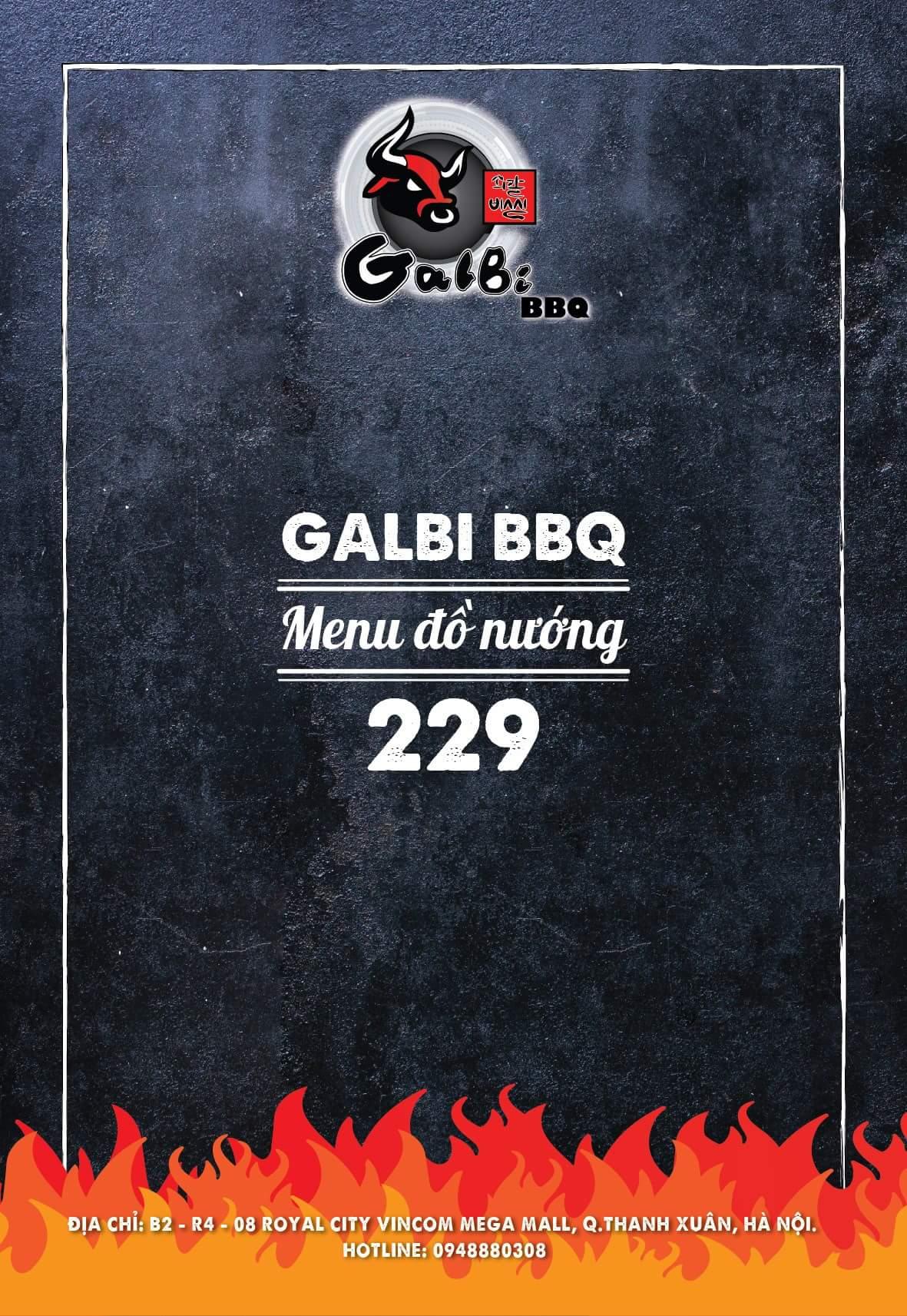 Menu Galbi BBQ - Royal City 1