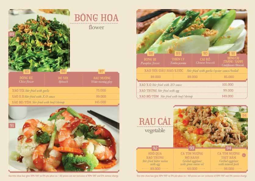 Menu Hoàng Yến Cuisine – Ngô Đức Kế 10