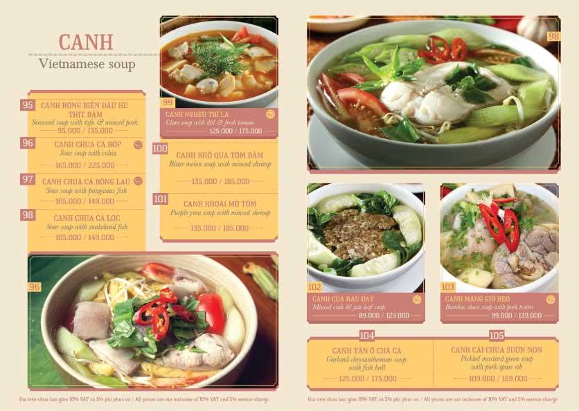 Menu Hoàng Yến Cuisine - Tôn Dật Tiên  11