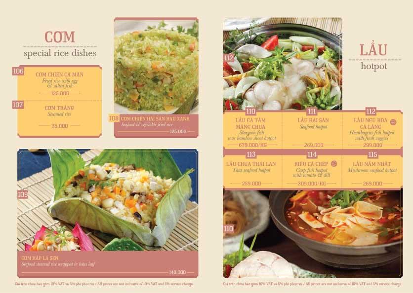 Menu Hoàng Yến Cuisine - Tôn Dật Tiên  12