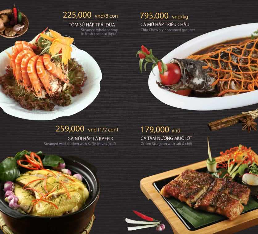 Menu Hoàng Yến Cuisine - Tôn Dật Tiên  14