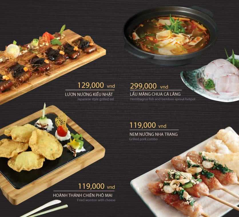 Menu Hoàng Yến Cuisine - Tôn Dật Tiên  16