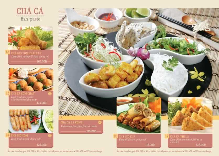 Menu Hoàng Yến Cuisine – Ngô Đức Kế 2