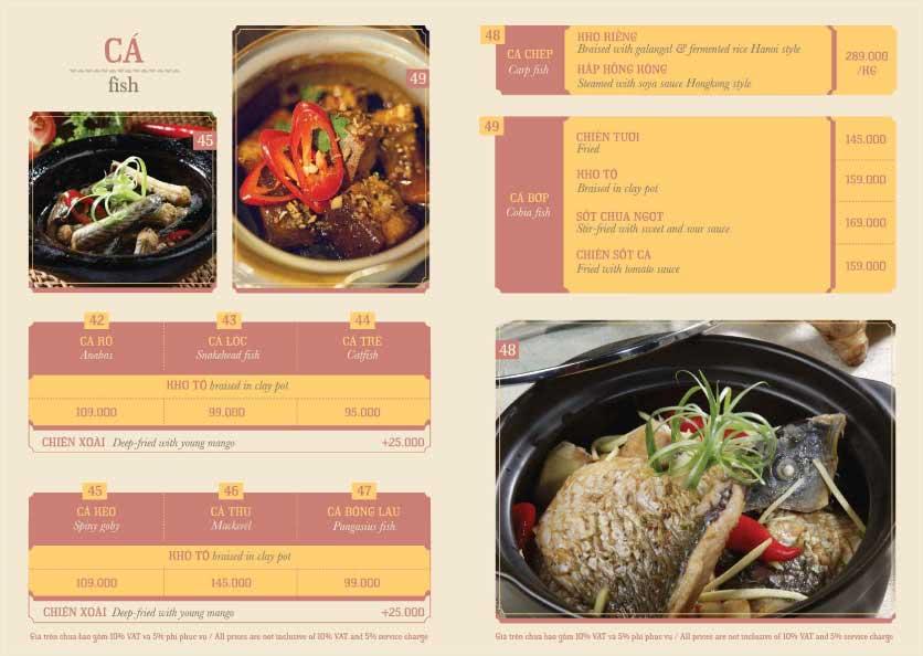 Menu Hoàng Yến Cuisine – Ngô Đức Kế 5