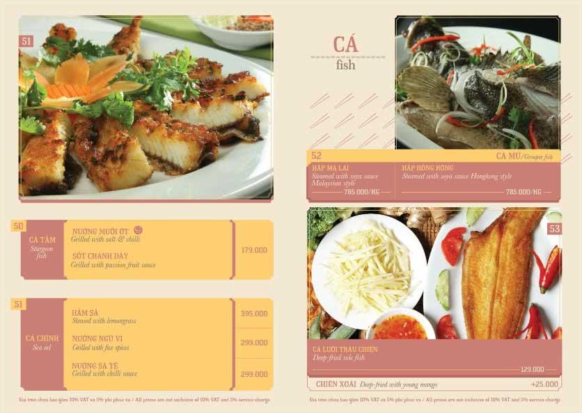 Menu Hoàng Yến Cuisine – Ngô Đức Kế 6