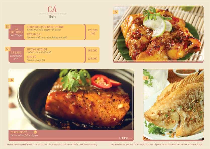 Menu Hoàng Yến Cuisine – Ngô Đức Kế 7