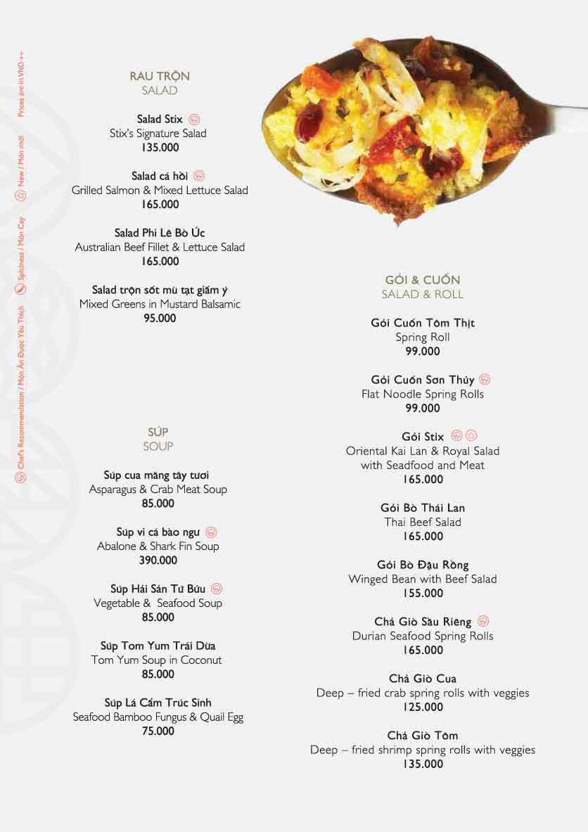 Menu Stix - Nguyễn Đình Chiểu  5