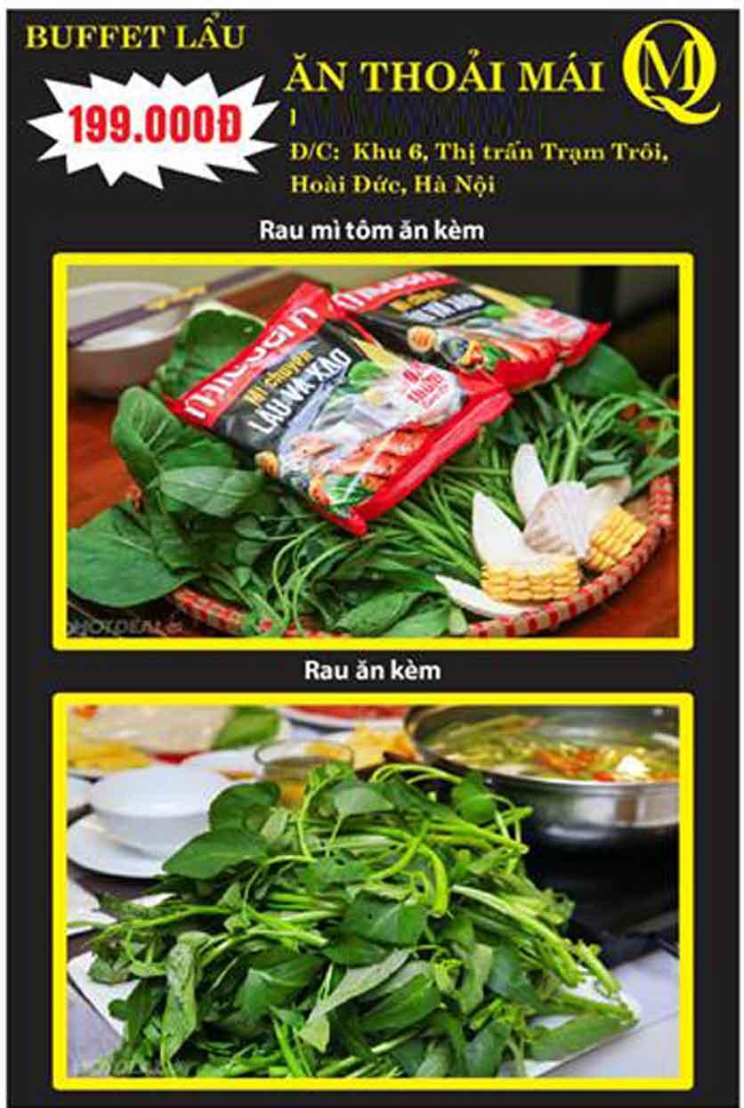 Menu Koishi BBQ – Hoài Đức 1