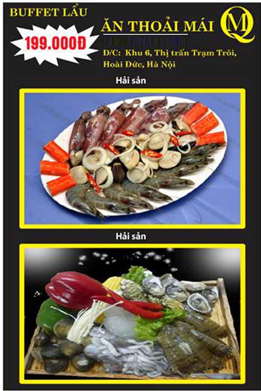 Menu Koishi BBQ – Hoài Đức 2