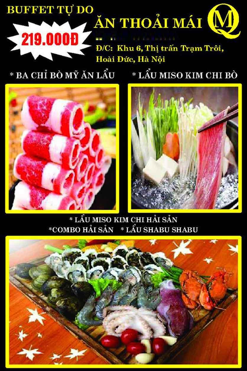 Menu Koishi BBQ – Hoài Đức 7