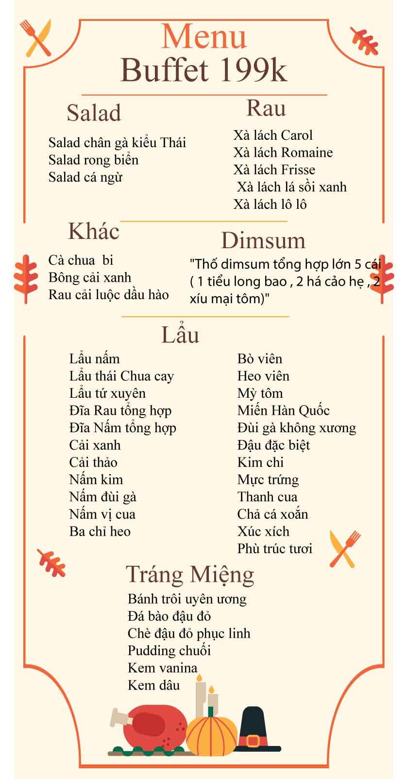 Menu Kowloon - Vincom Bà Triệu 1