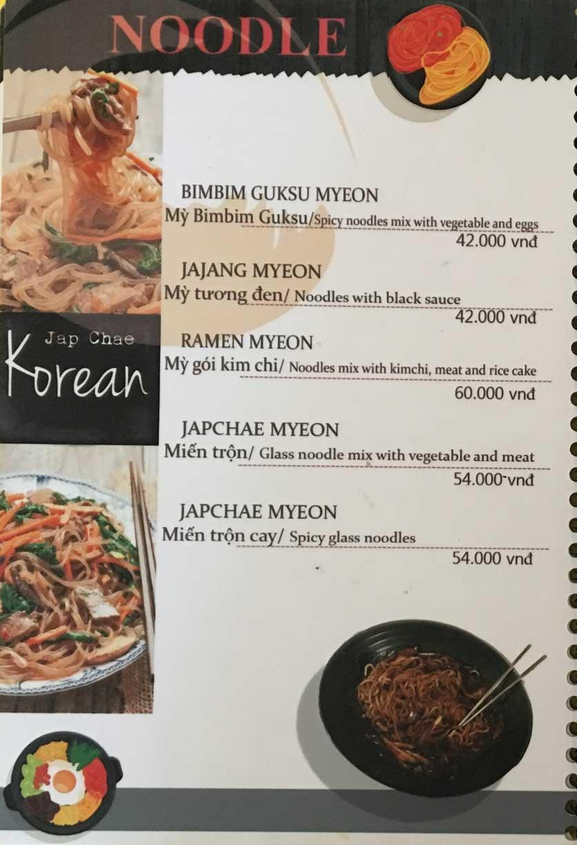 Menu Busan Korean Food - Bình Thạnh  3