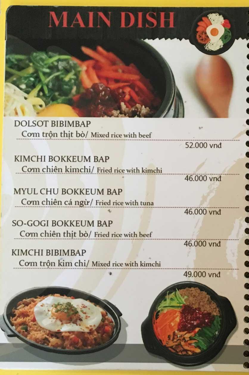 Menu Busan Korean Food - Bình Thạnh  7