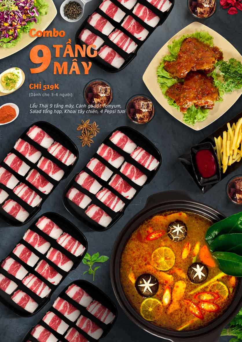 Menu Food Center - Mipec Tây Sơn 1