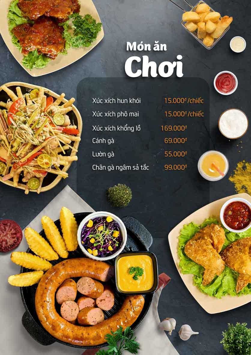 Menu Food Center - Mipec Tây Sơn 4