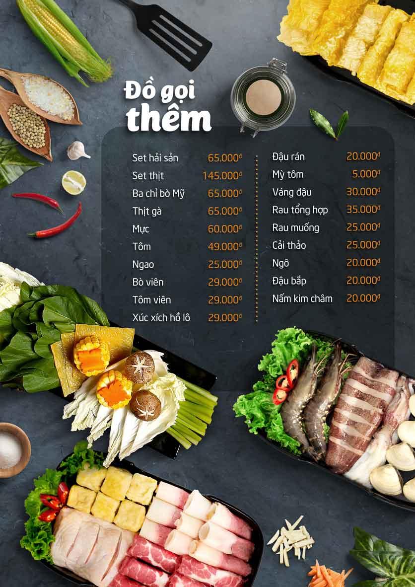 Menu Food Center - Mipec Tây Sơn 5