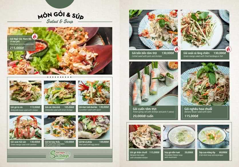 Menu Món Ngon Sài Thành - Huỳnh Thúc Kháng 8