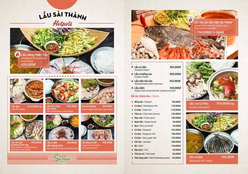 Menu Món Ngon Sài Thành - Huỳnh Thúc Kháng 9