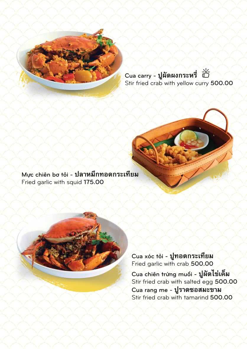 Menu Chai Talay 10