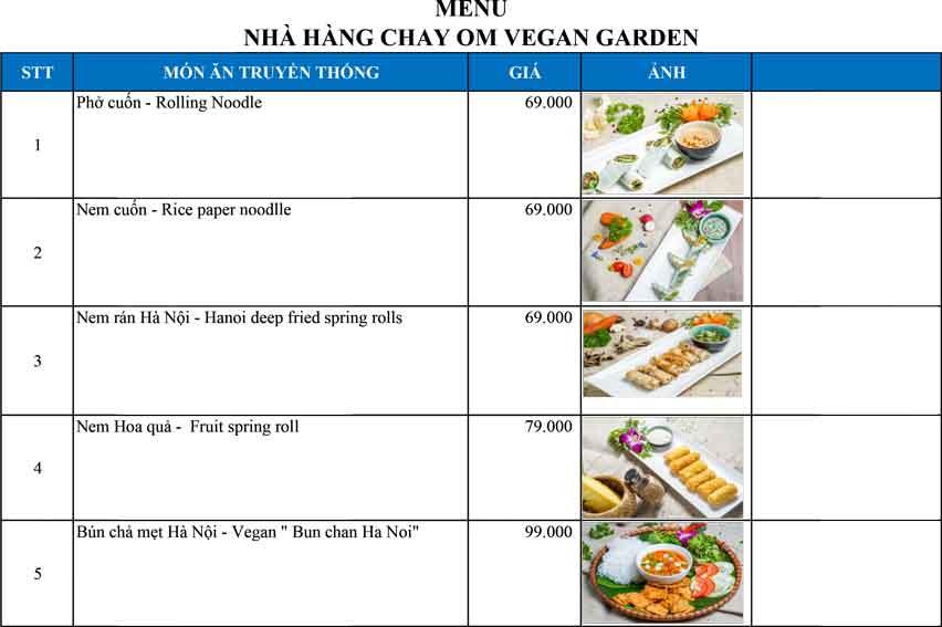 Menu OM Vegan Garden  1