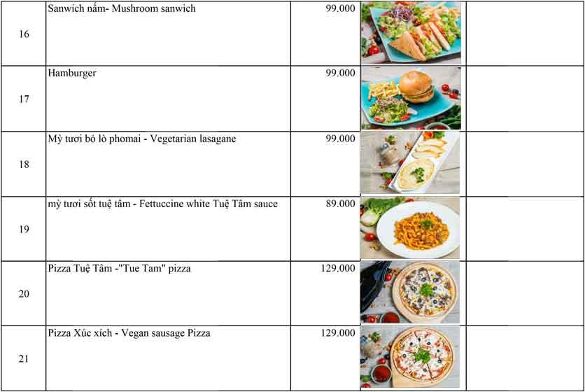 Menu OM Vegan Garden  4