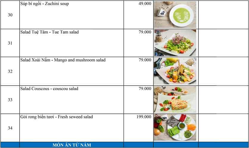Menu OM Vegan Garden  6