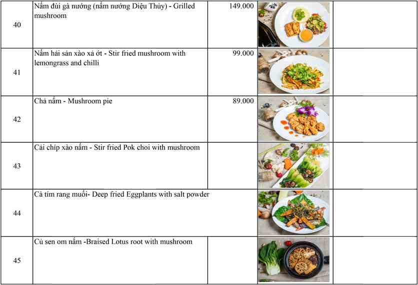 Menu OM Vegan Garden  8