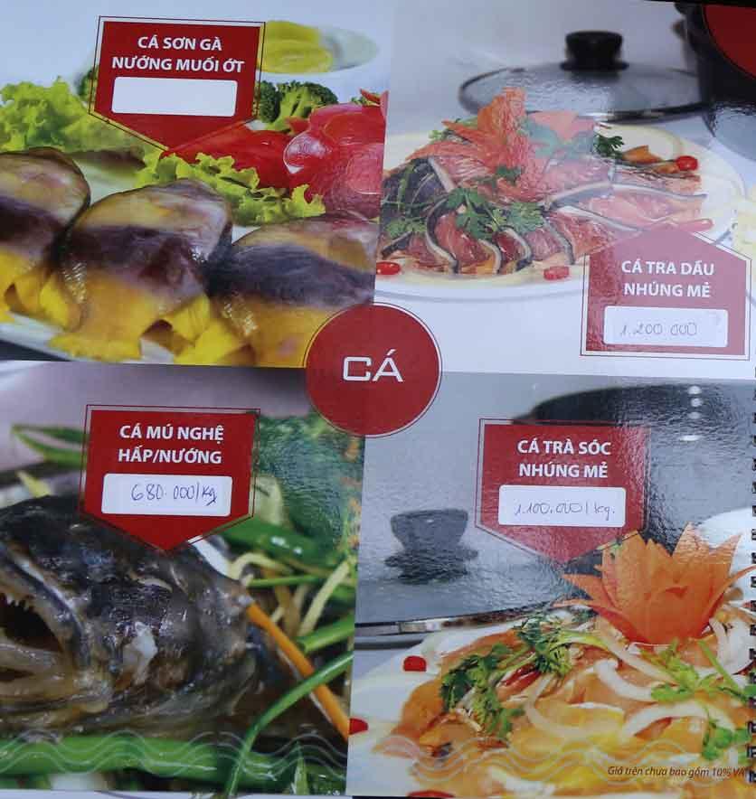 Menu Nhà hàng Phi Phố Biển - Lê Hồng Phong  12