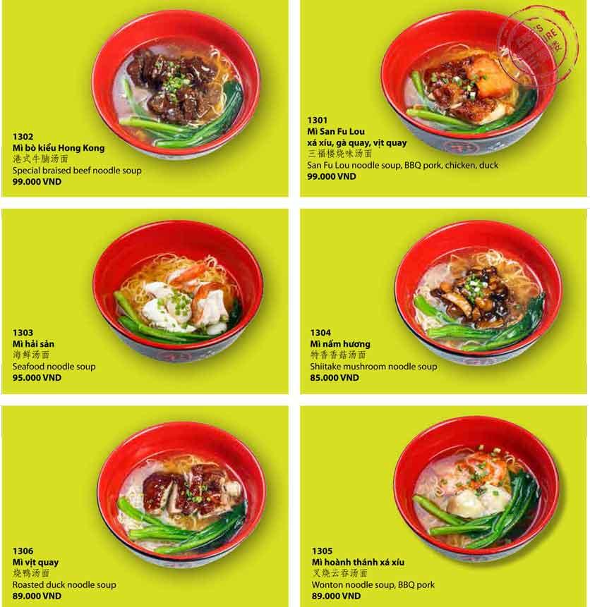 Menu San Fu Lou 5 – Nguyễn Đình Chiểu 6