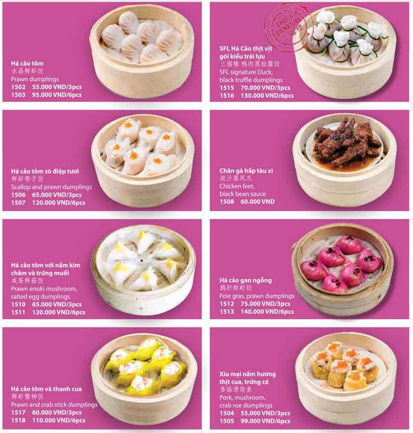 Menu San Fu Lou 5 – Nguyễn Đình Chiểu 7