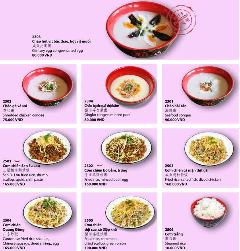 Menu San Fu Lou 5 – Nguyễn Đình Chiểu 9