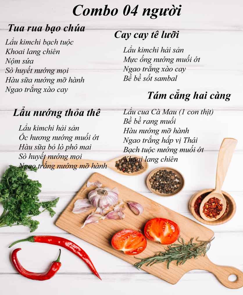 Menu Hải Sản Tomato - Lê Văn Hưu  2