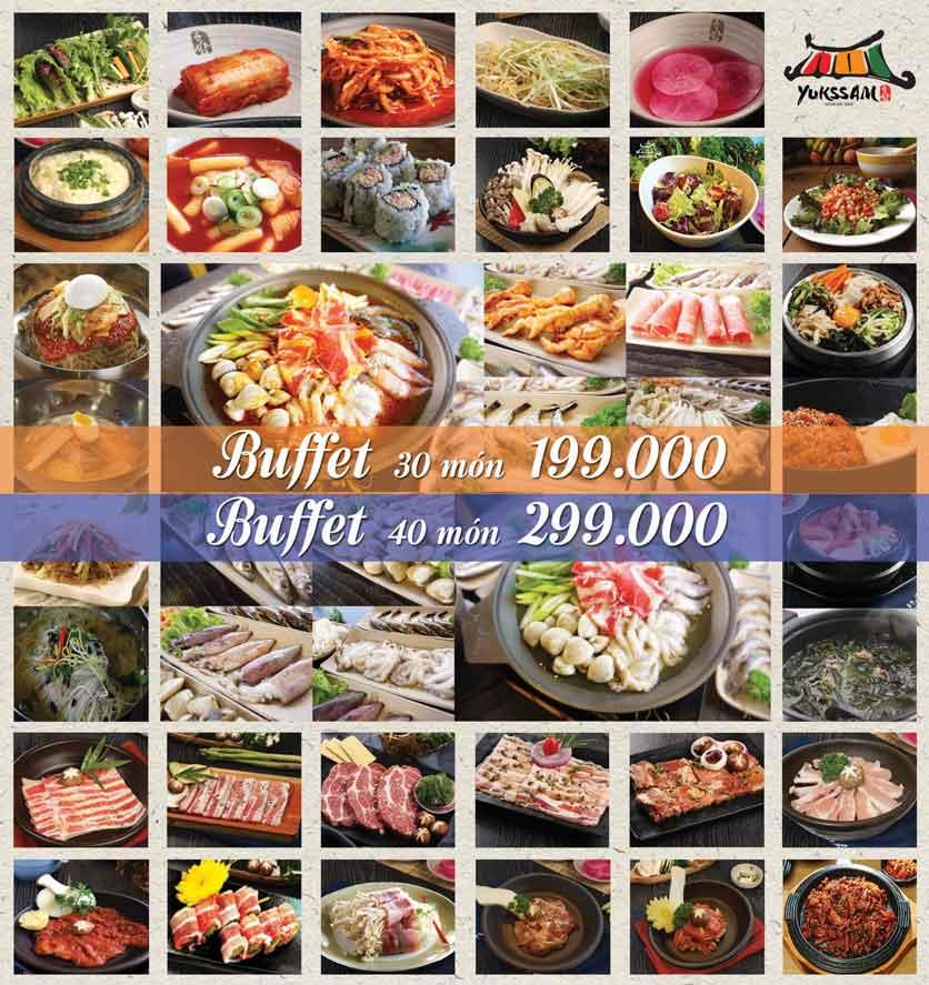 Menu Yukssam BBQ – Ô Chợ Dừa 1