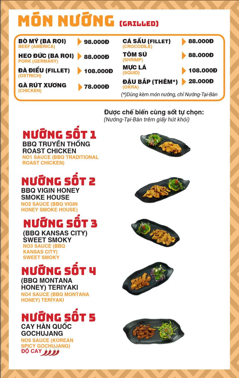 Menu Chick Kebabs - Cao Thắng  11