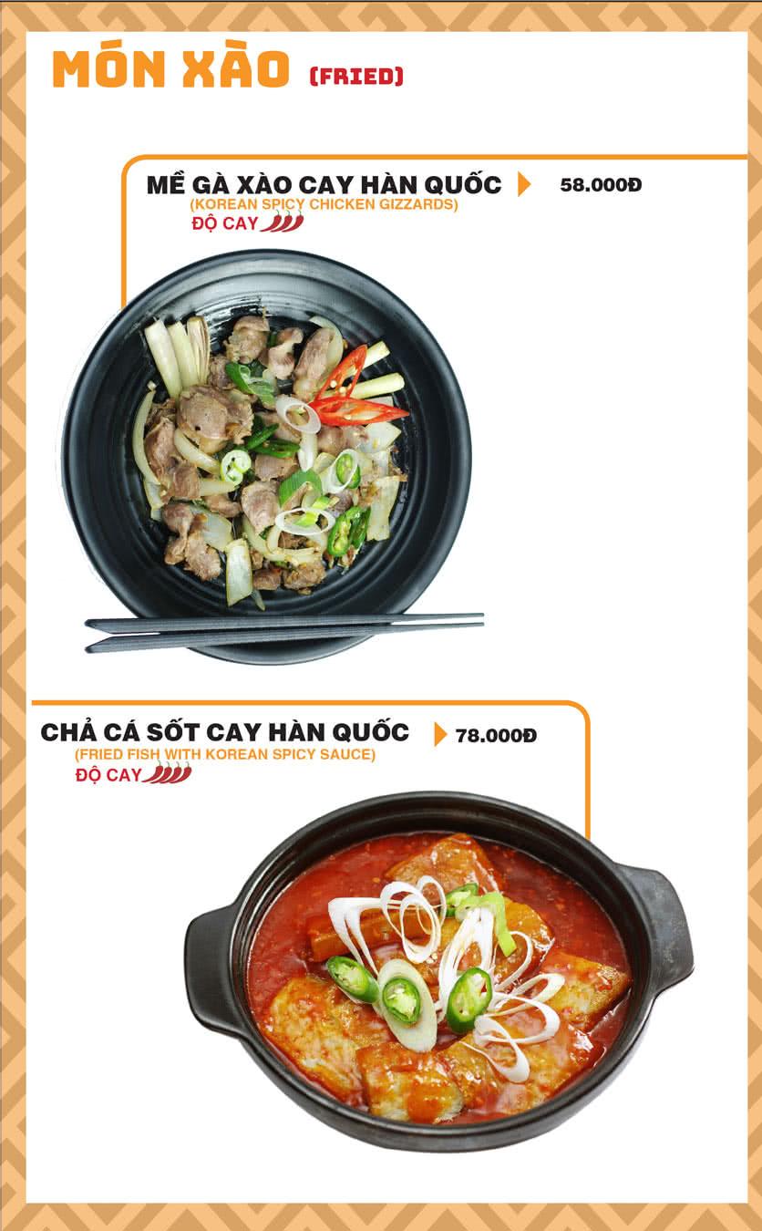 Menu Chick Kebabs - Cao Thắng  15