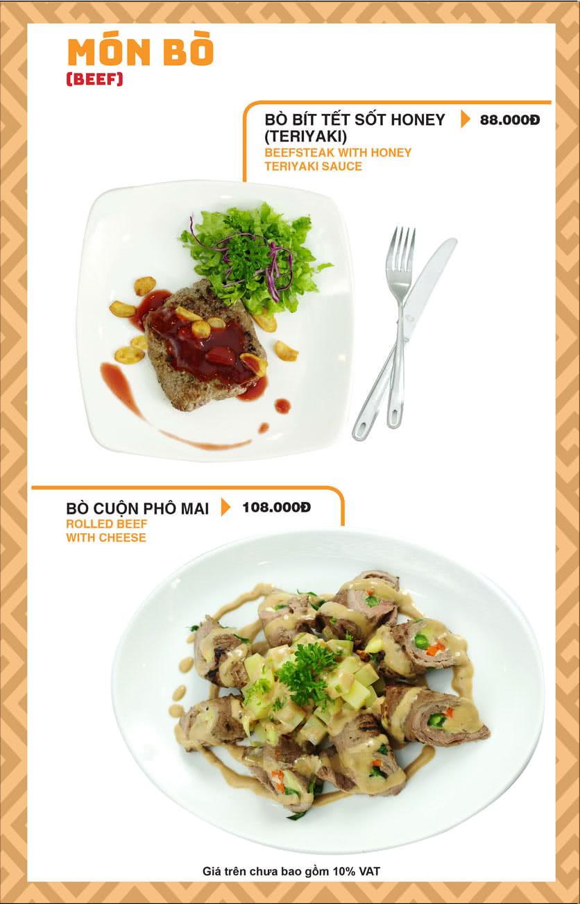 Menu Chick Kebabs - Cao Thắng  18