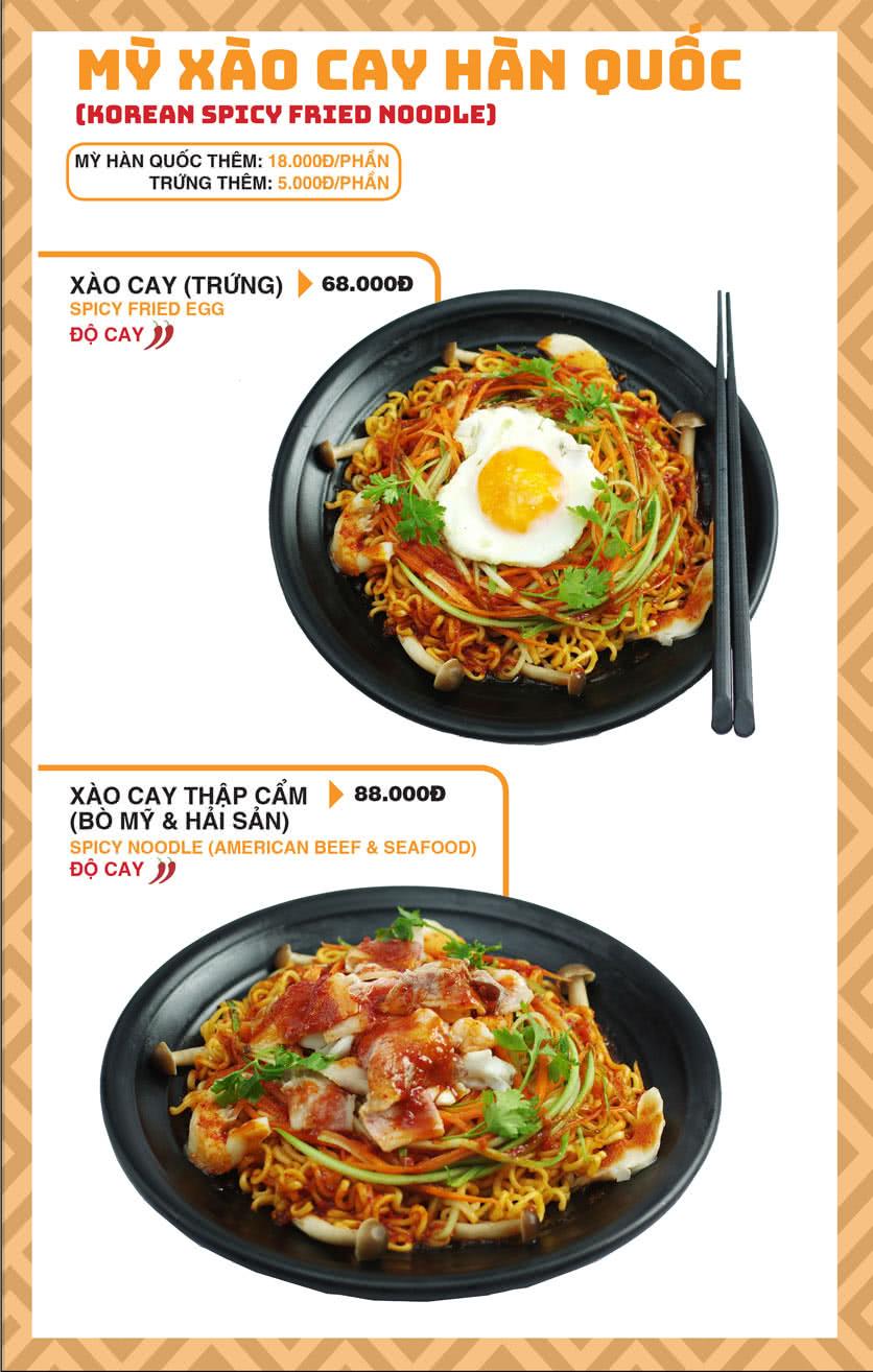 Menu Chick Kebabs - Cao Thắng  27